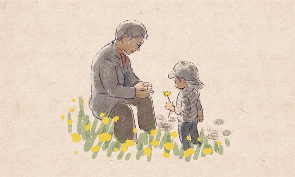 おじいちゃんとしお太郎