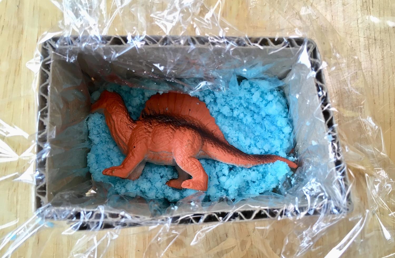 恐竜バスボムの作り方